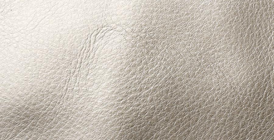 Sidabrinė odinė kuprinė