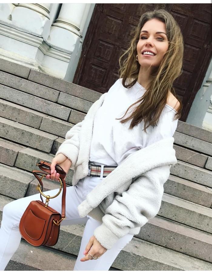 Stilinga odinė rankinė